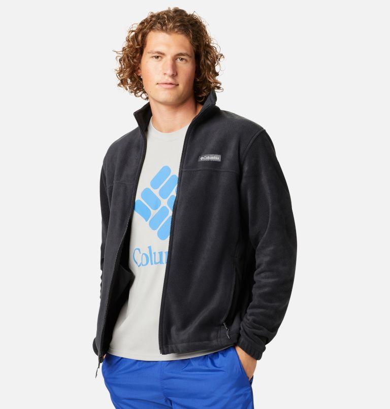 Steens Mountain™ Full Zip 2.0   010   XL Men's Steens Mountain™ 2.0 Full Zip Fleece Jacket, Black, front