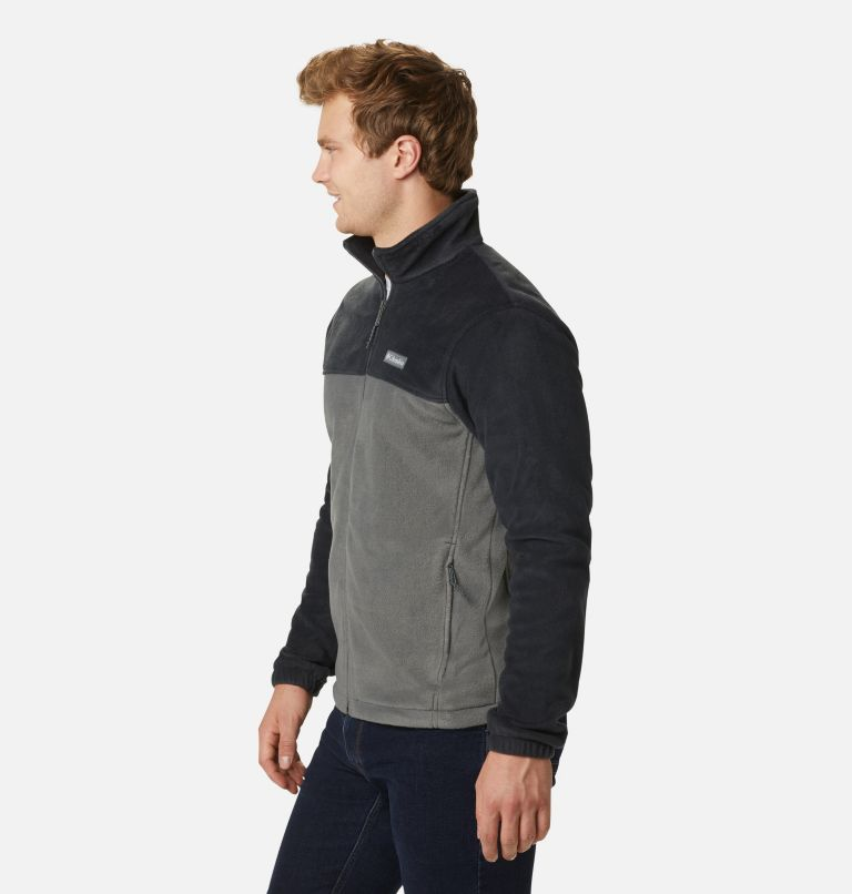Steens Mountain™ Full Zip 2.0 | 011 | S Men's Steens Mountain™ 2.0 Full Zip Fleece Jacket, Black, Grill, a1