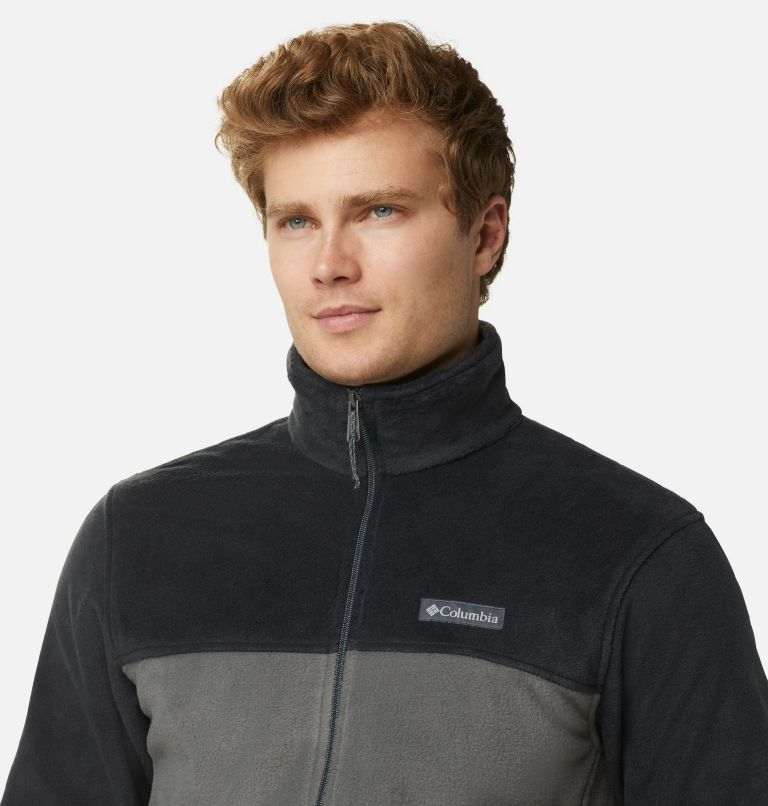 Steens Mountain™ Full Zip 2.0 | 011 | XL Men's Steens Mountain™ 2.0 Full Zip Fleece Jacket, Black, Grill, a2