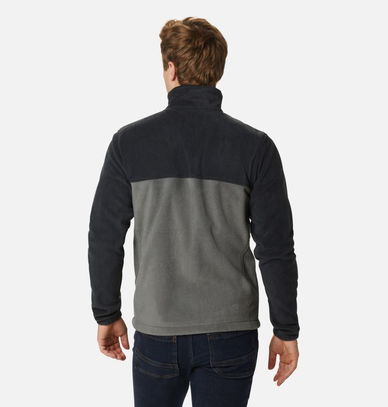 Steens Mountain™ Full Zip 2.0 | 011 | S Men's Steens Mountain™ 2.0 Full Zip Fleece Jacket, Black, Grill, back