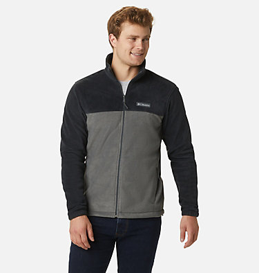 Men's Steens Mountain™ 2.0 Full Zip Fleece Jacket Steens Mountain™ Full Zip 2.0 | 024 | M, Black, Grill, front