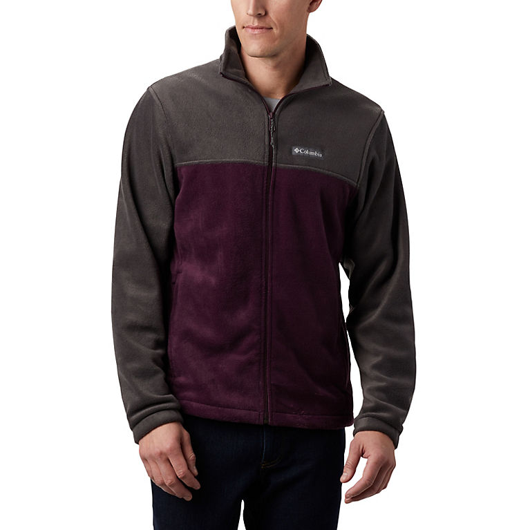Shark, Black Cherry Men's Steens Mountain™ 2.0 Full Zip Fleece Jacket, View 0