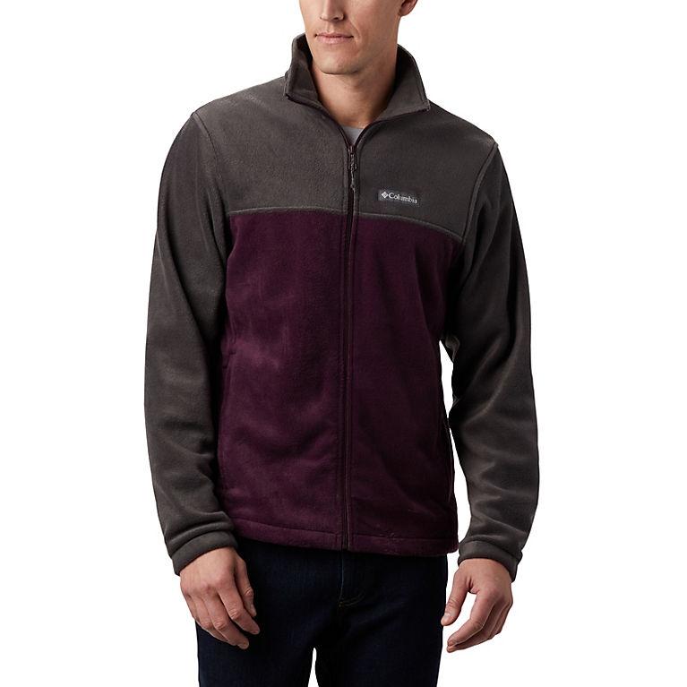 Shark, Black Cherry Men's Steens Mountain™ 2.0 Full Zip Fleece Jacket, View 0