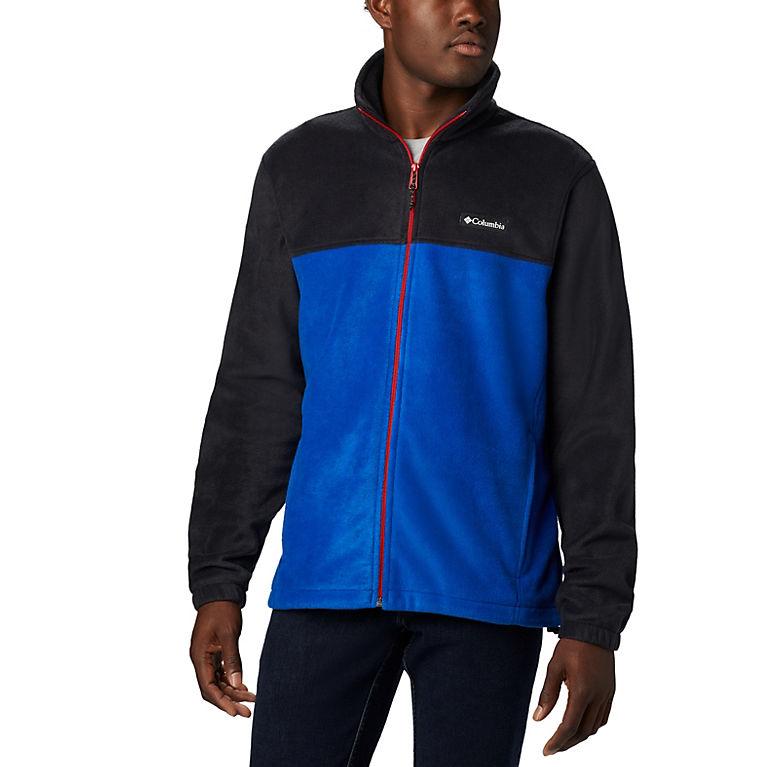 Black, Azul, Mountain Red Men's Steens Mountain™ 2.0 Full Zip Fleece Jacket, View 0