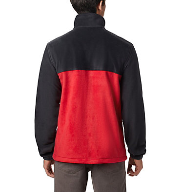 Men's Steens Mountain™ 2.0 Full Zip Fleece Jacket Steens Mountain™ Full Zip 2.0 | 835 | XL, Black, Mountain Red, back
