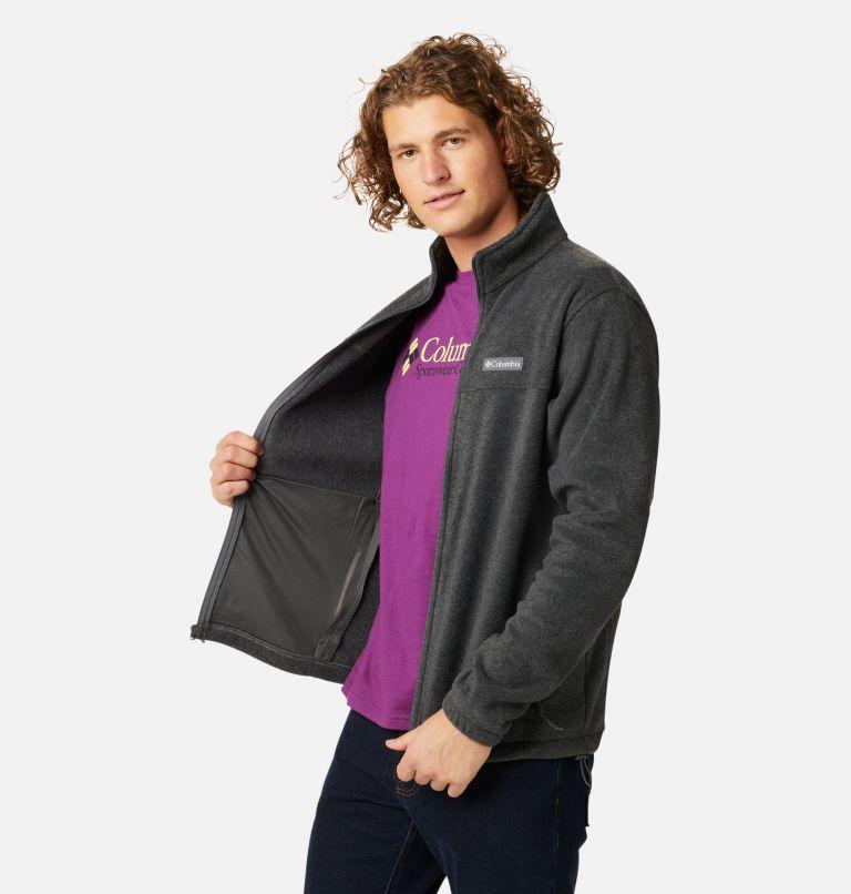 Steens Mountain™ Full Zip 2.0   048   S Men's Steens Mountain™ 2.0 Full Zip Fleece Jacket, Charcoal Heather, a1