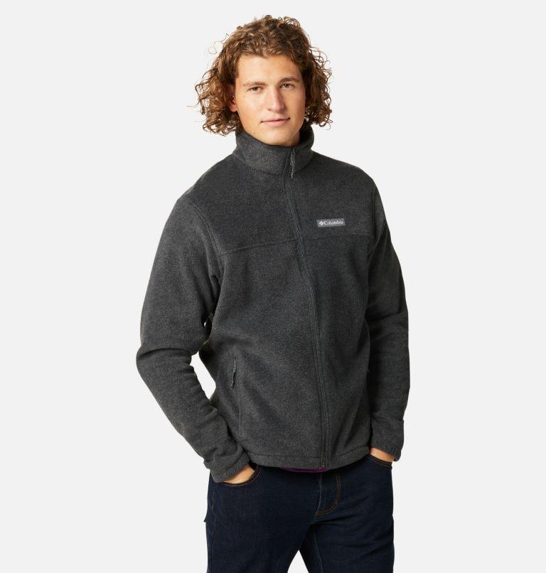 Steens Mountain™ Full Zip 2.0 | 048 | M Men's Steens Mountain™ 2.0 Full Zip Fleece Jacket, Charcoal Heather, a5