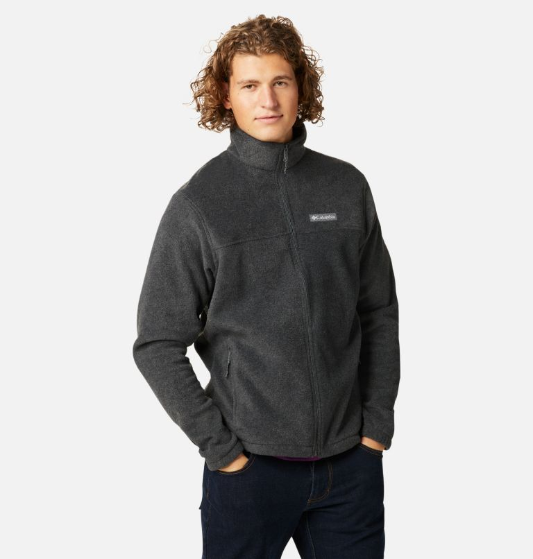 Steens Mountain™ Full Zip 2.0   048   S Men's Steens Mountain™ 2.0 Full Zip Fleece Jacket, Charcoal Heather, a5