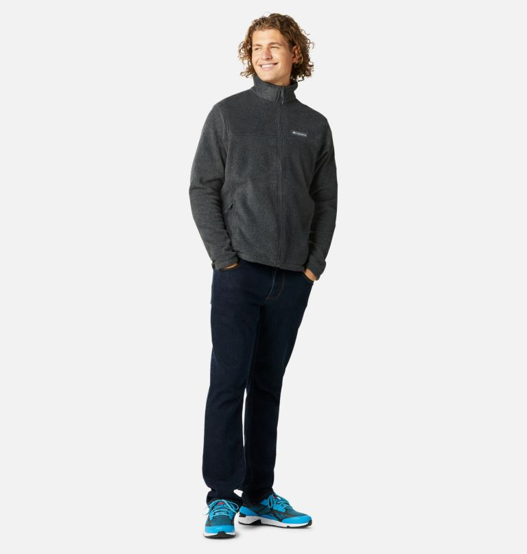 Steens Mountain™ Full Zip 2.0   048   S Men's Steens Mountain™ 2.0 Full Zip Fleece Jacket, Charcoal Heather, a6