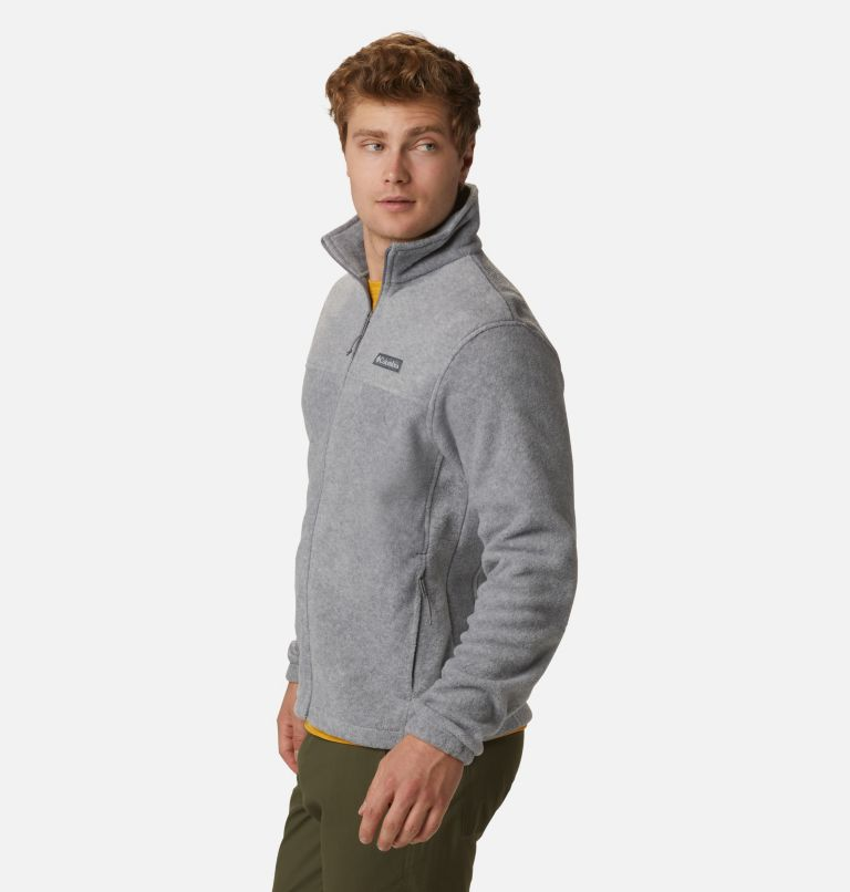 Steens Mountain™ Full Zip 2.0 | 060 | L Men's Steens Mountain™ 2.0 Full Zip Fleece Jacket, Light Grey Heather, a1