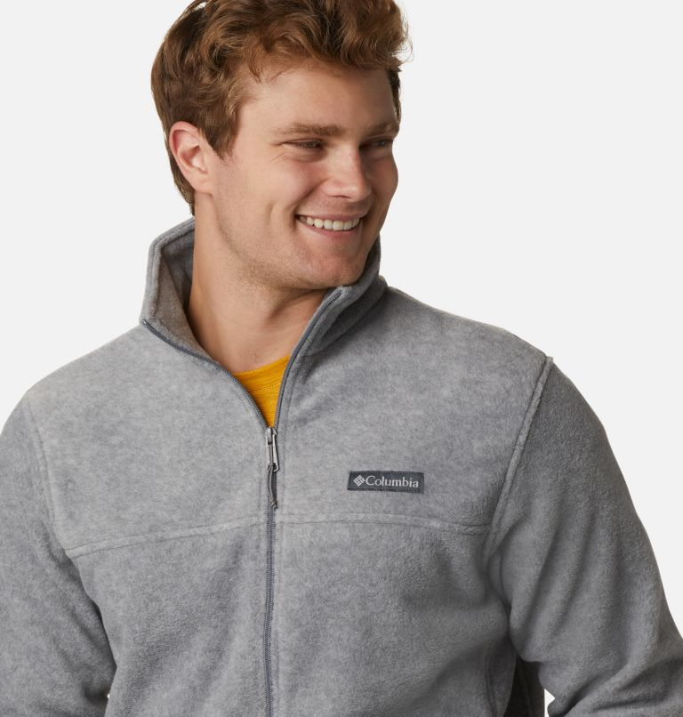 Steens Mountain™ Full Zip 2.0 | 060 | L Men's Steens Mountain™ 2.0 Full Zip Fleece Jacket, Light Grey Heather, a2