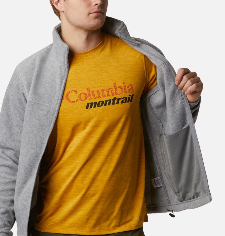 Steens Mountain™ Full Zip 2.0 | 060 | S Men's Steens Mountain™ 2.0 Full Zip Fleece Jacket, Light Grey Heather, a3