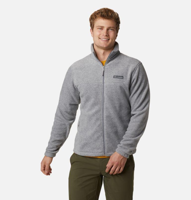 Steens Mountain™ Full Zip 2.0 | 060 | M Men's Steens Mountain™ 2.0 Full Zip Fleece Jacket, Light Grey Heather, a4
