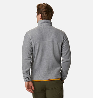Men's Steens Mountain™ 2.0 Full Zip Fleece Jacket Steens Mountain™ Full Zip 2.0 | 024 | M, Light Grey Heather, back