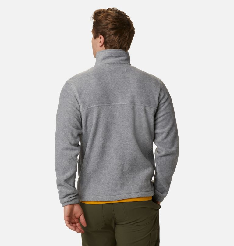 Steens Mountain™ Full Zip 2.0 | 060 | L Men's Steens Mountain™ 2.0 Full Zip Fleece Jacket, Light Grey Heather, back