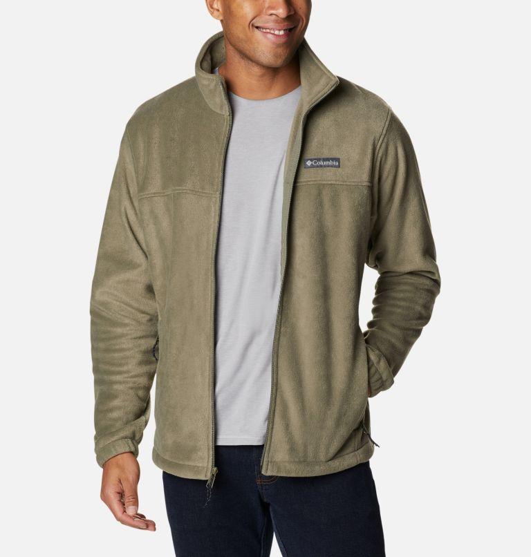 Steens Mountain™ Full Zip 2.0 | 399 | XXL Men's Steens Mountain™ 2.0 Full Zip Fleece Jacket, Stone Green, front