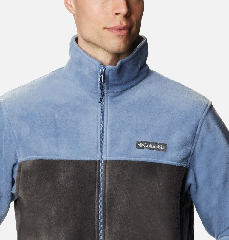Steens Mountain™ Full Zip 2.0 | 451 | XL Men's Steens Mountain™ 2.0 Full Zip Fleece Jacket, Bluestone, Shark, a2
