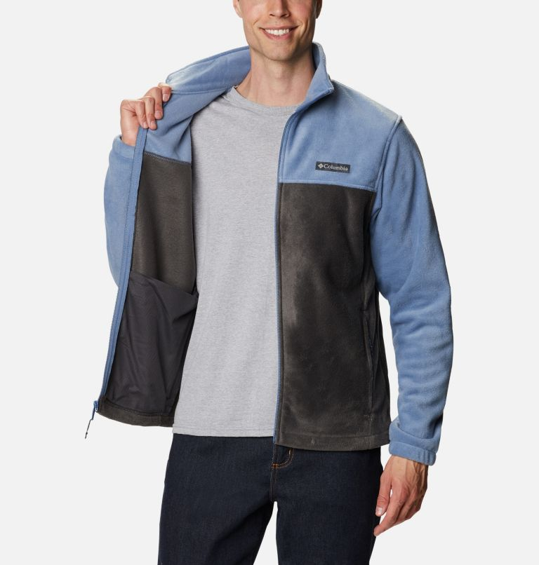 Steens Mountain™ Full Zip 2.0 | 451 | XL Men's Steens Mountain™ 2.0 Full Zip Fleece Jacket, Bluestone, Shark, a3