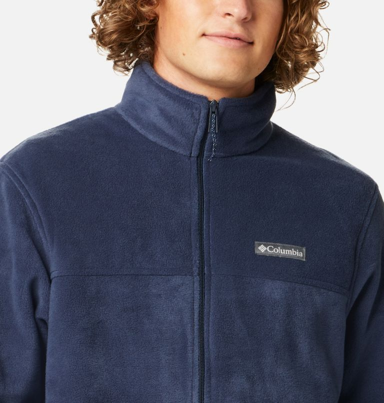 Steens Mountain™ Full Zip 2.0 | 464 | M Men's Steens Mountain™ 2.0 Full Zip Fleece Jacket, Collegiate Navy, a2
