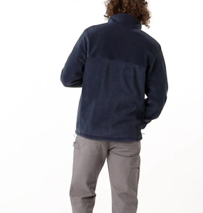 Steens Mountain™ Full Zip 2.0   464   S Men's Steens Mountain™ 2.0 Full Zip Fleece Jacket, Collegiate Navy, video