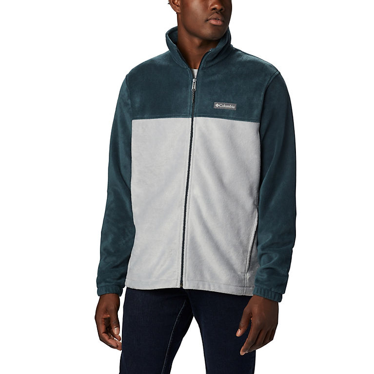 Night Shadow, Columbia Grey Men's Steens Mountain™ 2.0 Full Zip Fleece Jacket, View 0