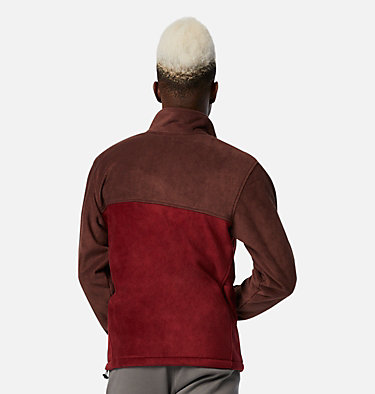 Men's Steens Mountain™ 2.0 Full Zip Fleece Jacket Steens Mountain™ Full Zip 2.0 | 024 | M, Red Lodge, Red Jasper, back
