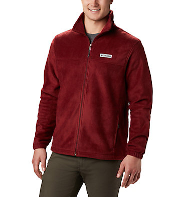 Men's Steens Mountain™ 2.0 Full Zip Fleece Jacket Steens Mountain™ Full Zip 2.0 | 024 | M, Red Jasper, front