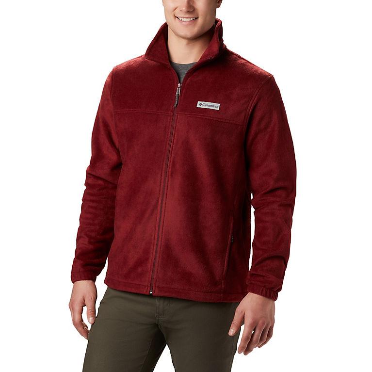 Red Jasper Men's Steens Mountain™ 2.0 Full Zip Fleece Jacket, View 0