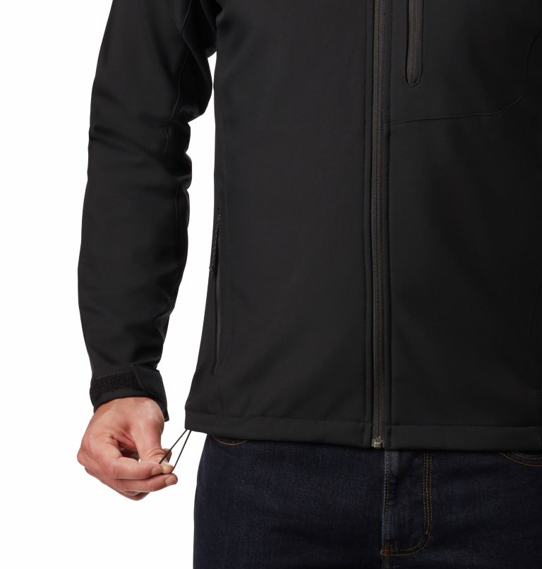 Cascade Ridge™ II Softshell | 011 | XL Men's Cascade Ridge™ II Softshell Jacket, Black, a3