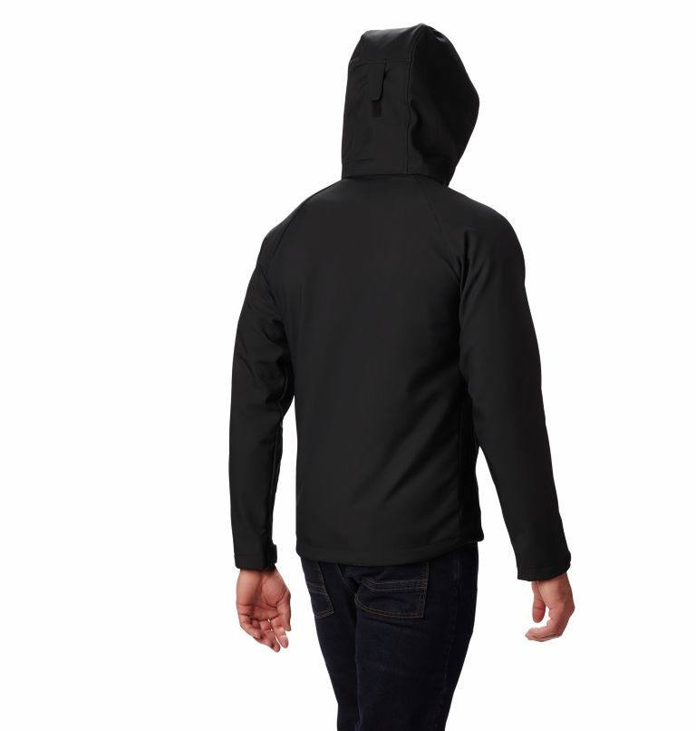 Cascade Ridge™ II Softshell | 011 | XL Men's Cascade Ridge™ II Softshell Jacket, Black, back