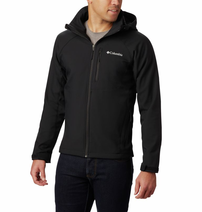 Cascade Ridge™ II Softshell | 011 | XL Men's Cascade Ridge™ II Softshell Jacket, Black, front