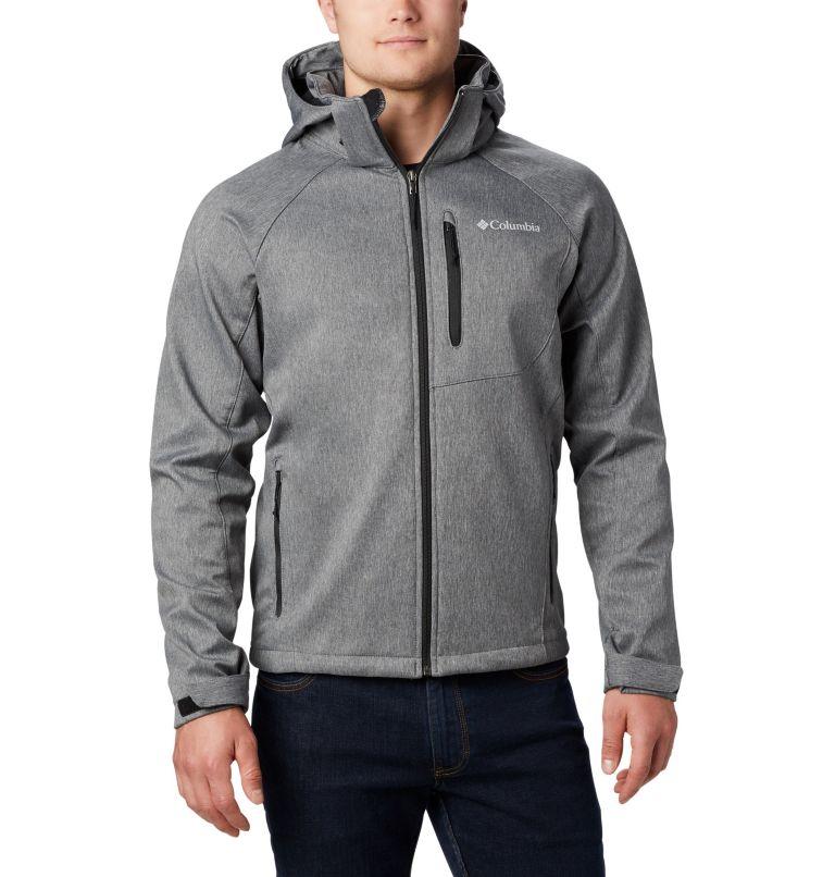 Cascade Ridge™ II Softshell   030   S Men's Cascade Ridge™ II Softshell Jacket, Charcoal Heather, front