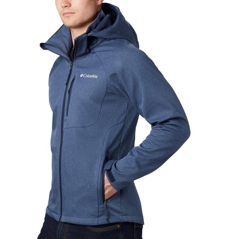 Cascade Ridge™ II Softshell | 465 | L Men's Cascade Ridge™ II Softshell Jacket, Collegiate Navy Heather, a1