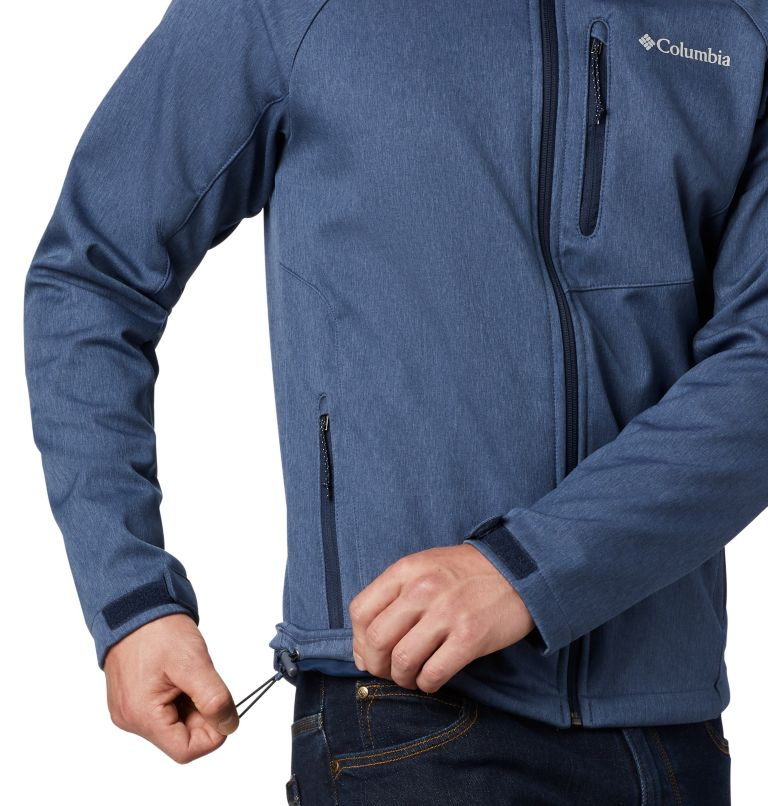 Cascade Ridge™ II Softshell | 465 | L Men's Cascade Ridge™ II Softshell Jacket, Collegiate Navy Heather, a2