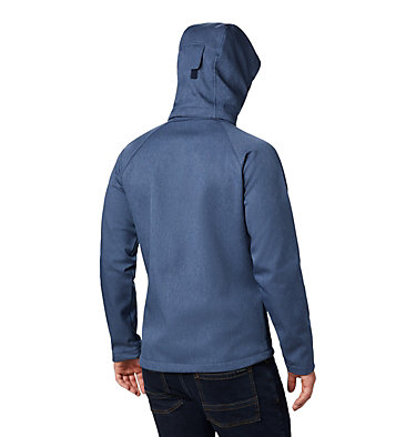 Men's Cascade Ridge™ II Softshell Jacket Cascade Ridge™ II Softshell | 397 | XS, Collegiate Navy Heather, back