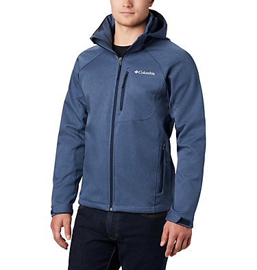 Softshell Cascade Ridge™ II da uomo Cascade Ridge™ II Softshell | 397 | XS, Collegiate Navy Heather, front