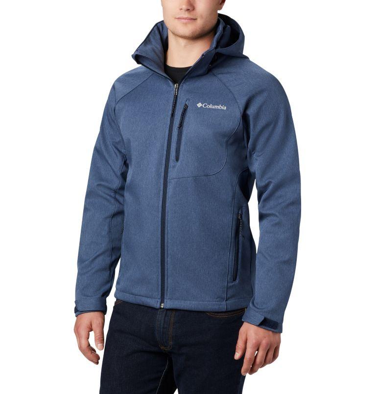 Cascade Ridge™ II Softshell | 465 | S Men's Cascade Ridge™ II Softshell Jacket, Collegiate Navy Heather, front