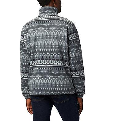 Men's Steens Mountain™ Printed Fleece Jacket Steens Mountain™ Printed Jacket | 022 | S, Black Classic Retro, back