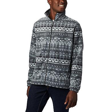Men's Steens Mountain™ Printed Fleece Jacket Steens Mountain™ Printed Jacket | 022 | S, Black Classic Retro, front