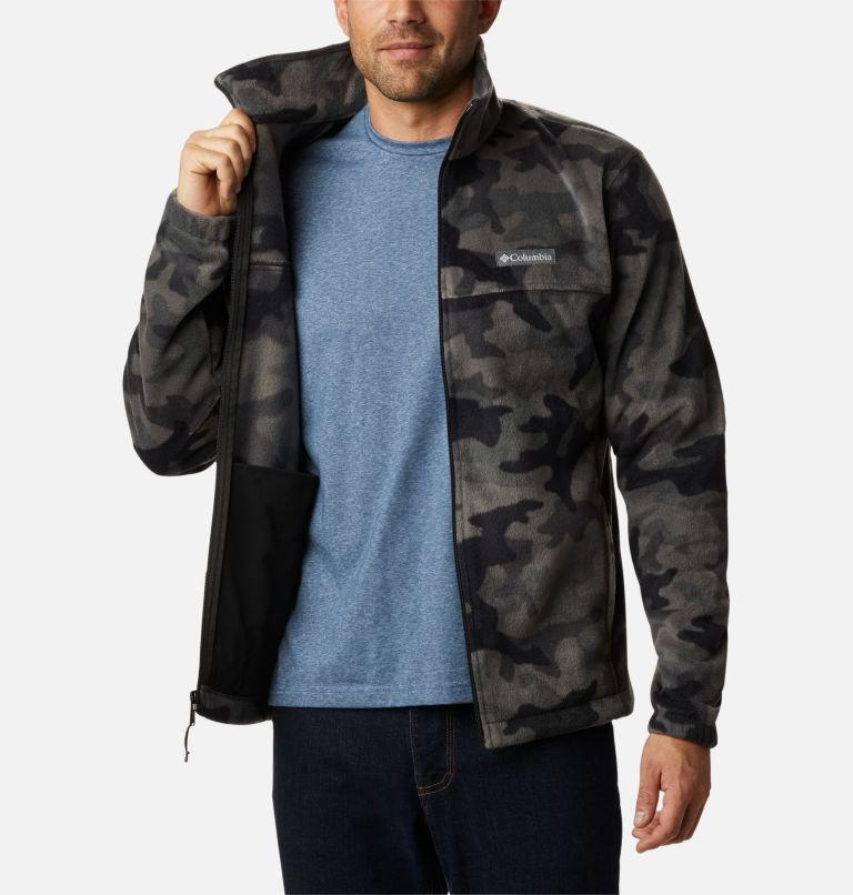 Men's Steens Mountain™ Printed Fleece Jacket Men's Steens Mountain™ Printed Fleece Jacket, a3