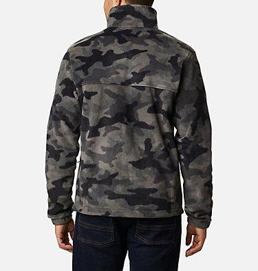 Men's Steens Mountain™ Printed Fleece Jacket Steens Mountain™ Printed Jacket | 022 | S, Black Camo, back