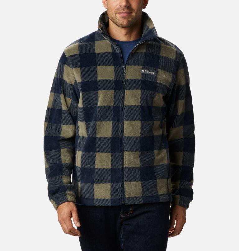 Men's Steens Mountain™ Printed Fleece Jacket Men's Steens Mountain™ Printed Fleece Jacket, front