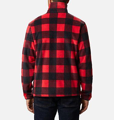 Men's Steens Mountain™ Printed Fleece Jacket Steens Mountain™ Printed Jacket | 022 | S, Mountain Red Check Print, back