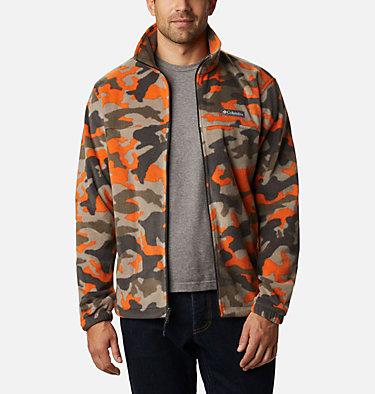 Men's Steens Mountain™ Printed Fleece Jacket Steens Mountain™ Printed Jacket | 022 | S, Harvester Camo, front