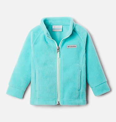 Girls' Infant Benton Springs™ Fleece Jacket Benton Springs™ Fleece | 618 | 12/18, Dolphin, Sea Ice, front