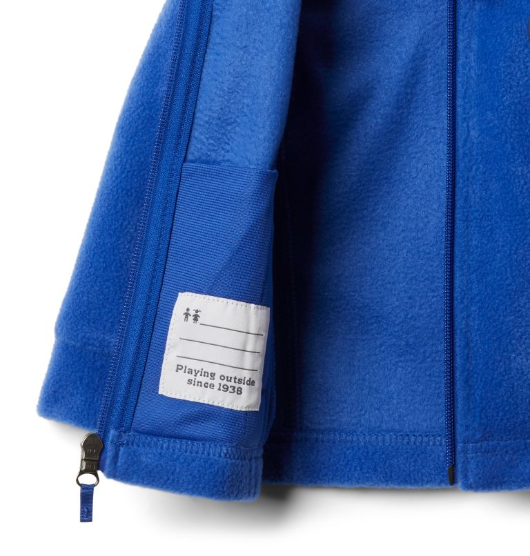 Benton Springs™ Fleece | 410 | 12/18 Girls' Infant Benton Springs™ Fleece Jacket, Lapis Blue, a1