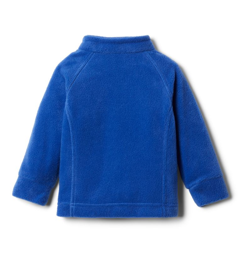 Benton Springs™ Fleece | 410 | 12/18 Girls' Infant Benton Springs™ Fleece Jacket, Lapis Blue, back
