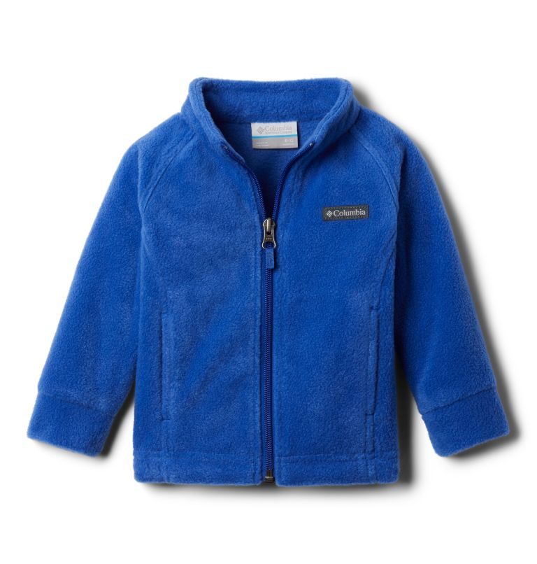 Benton Springs™ Fleece | 410 | 12/18 Girls' Infant Benton Springs™ Fleece Jacket, Lapis Blue, front