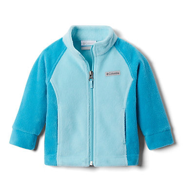 Girls' Infant Benton Springs™ Fleece Jacket Benton Springs™ Fleece | 618 | 12/18, Clear Water, Aquatint, front