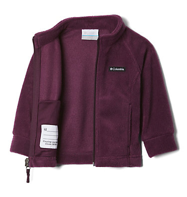 Girls' Infant Benton Springs™ Fleece Jacket Benton Springs™ Fleece   618   12/18, Purple Dahlia, a1